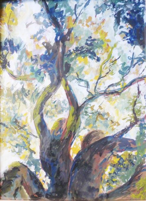 Aquarelle - 40 x 30 cm - 1997 - vendu - Coll. particulière