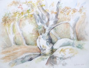 Aquarelle - 23 x 31 cm - 1997