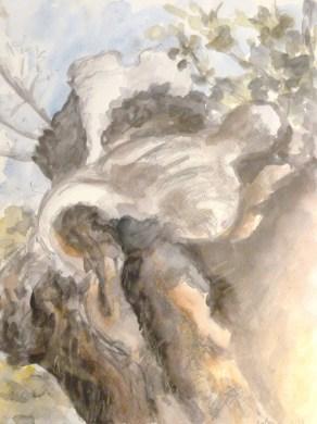 Aquarelle et Crayon - 55 x 46 cm - 1997