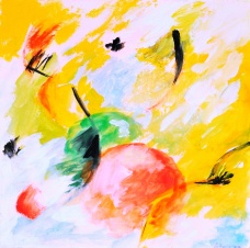 Gouache - 24 x 24 cm - 1997