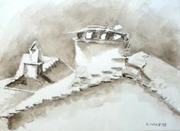 Aquarelle - 30 x 40 cm - 1997