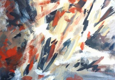Gouache - 20 x 30 cm - 1998 / destruction en vert