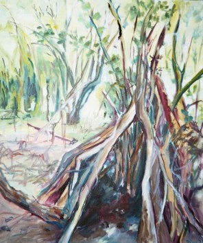 Huile - 46 x 37,5 cm - 1999