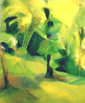 Huile - 40 x 30 cm - 1999 - vendu - Coll. particulière