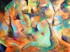 Huile - 46 x 58 cm - 2000