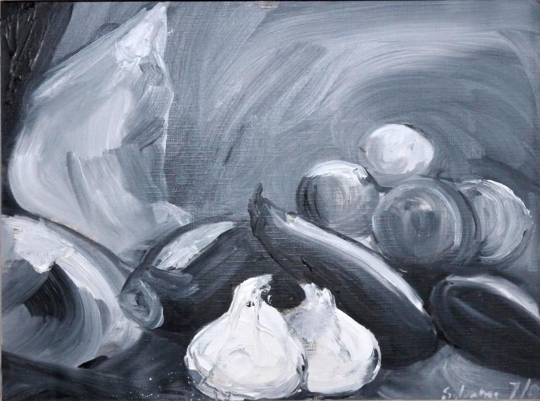 Huile - 24 x 32 cm - 2001 - Collection privée