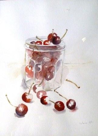 Aquarelle - 40 x 30 cm - 2001