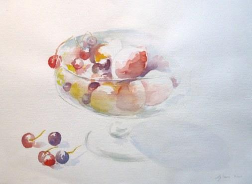 Aquarelle - 36 x 51 cm - 2001