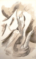 Encre de chine - 24 x 15 cm - 2002