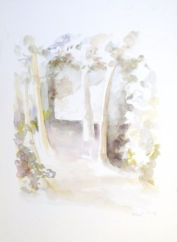 Aquarelle - 48 x 36 cm - 2003