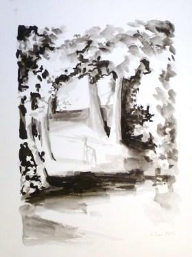 Encre de Chine - 48 x 36 cm - 2003