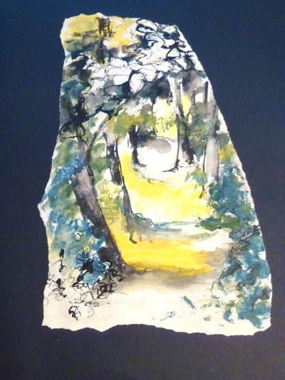 Encre de Chine et Gouache - 32 x 32 cm - 2003