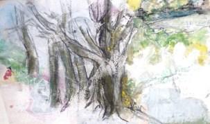 Encre de Chine et Gouache - 35 x 53 cm - 2003