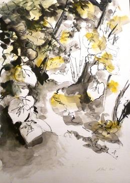 Encre et Aquarelle - 40 x 30 cm - 2003 - Collection privée