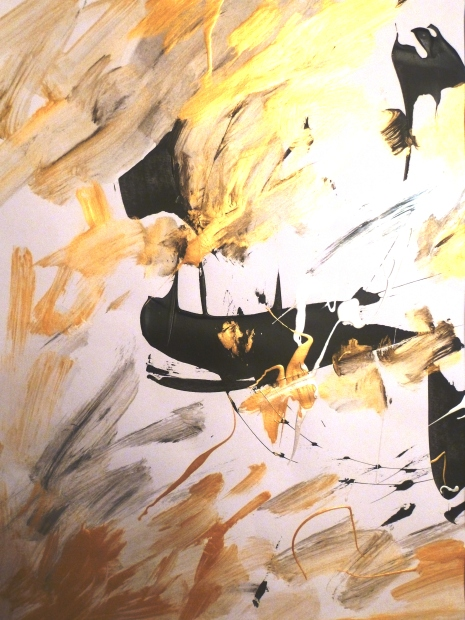 Acrylique - 40 x 34 cm - 2004 - vendu - Coll. particulière