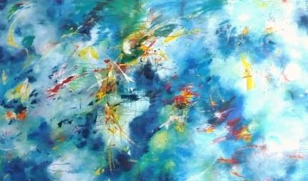 Acrylique - 100 x 200 cm - 2005