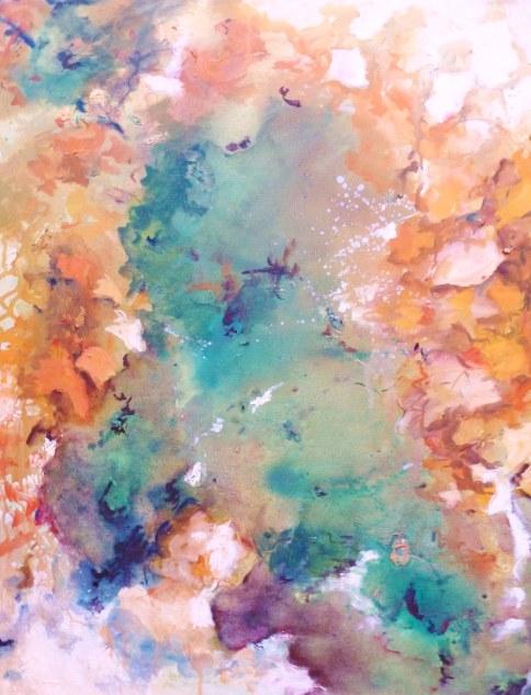 Huile - 61 x 59 cm - 2006