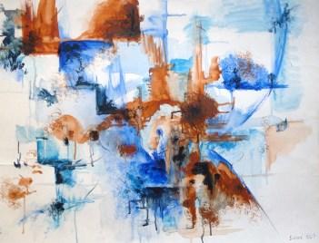 Acrylique - :50 x 65 cm - 2007