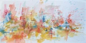 Acrylique -20 x 40 cm - - 2009