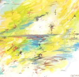 Huile - 60 x 60 cm - 2009