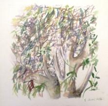 Aquarelle - 19 x 19 cm - 2012