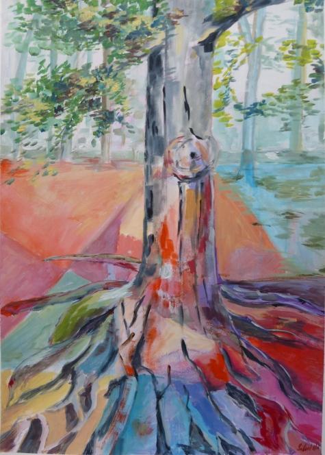 Acrylique - 65 x 50 cm - 2014