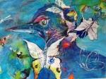 l'oiseau et lespapillons