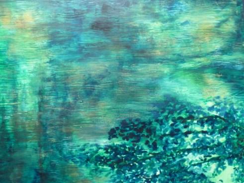 Huile - 50 x 65 cm - 1991