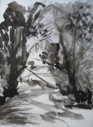 Encre de Chine- 12 x 24 cm - 1995