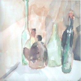 Aquarelle - 24 x 30 cm - 1995