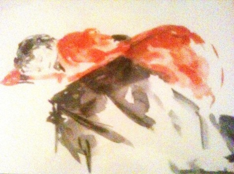 Encre - 21 x 30 cm - 1997 - vendu - Coll. particulière