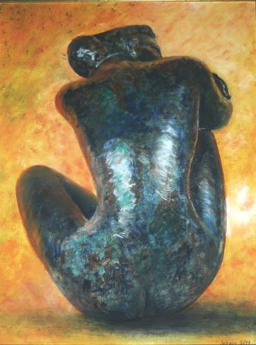 Huile - 65 x 50 cm - 1997 - vendu - Coll. particulière