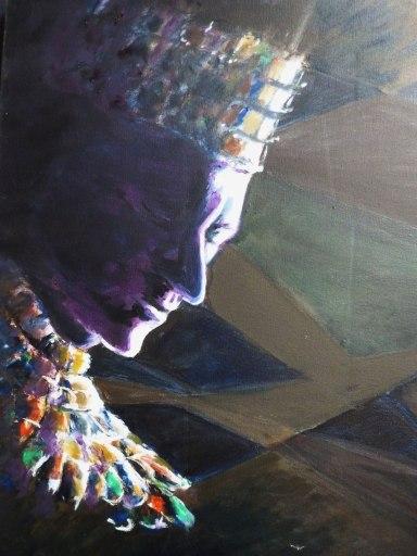 Huile - 61 x 46 cm - 2004