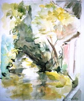 Aquarelle - 32 x 25 cm - 1999