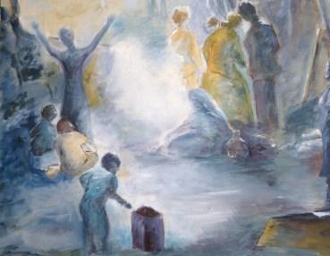 Huile - 65 x 73 cm - 2005