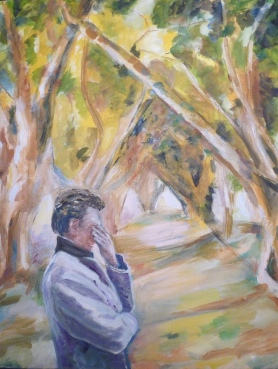 Huile - 73 x 60 cm - 2006