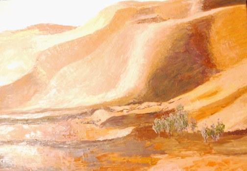 Huile - 46 x 65 cm - 2007