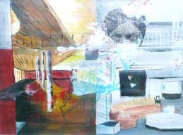Acrylique – 50 x 65 cm - 2008 - vendu - Coll. particulière