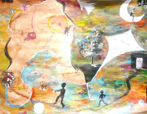 Acrylique – 65 x 50 cm – 2009
