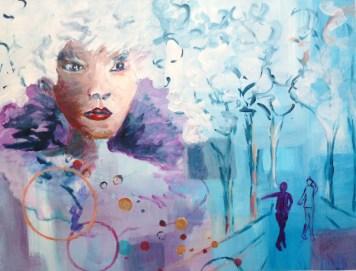 Acrylique – 50 x65 cm – 2009