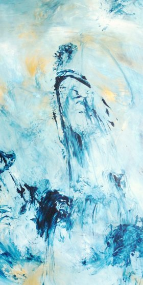 Arylique -65 x 40 cm - 2010