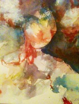 Aquarelle - 15 x 20 cm - 2011 - vendu - Coll. particulière