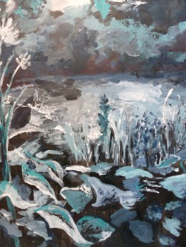 Acrylique - 65 x 50 cm - 2011