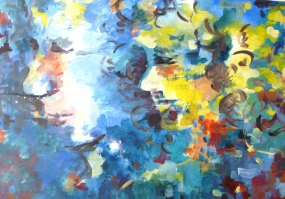 Acrylique - 50 x 65 cm Année : 2011
