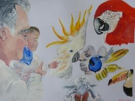 Acrylique – 50 x 65 cm - 2013 - vendu - Coll. particulière