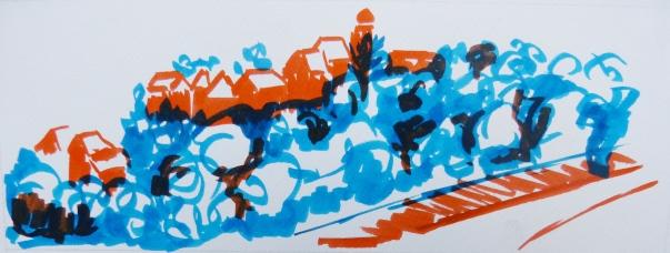 Feutre - 8 x 23 cm - 2013