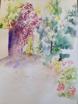 Aquarelle - 28,5 x 21 cm - 2015