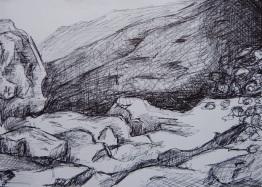 Stylo bille - 16 x 25 cm - 2015