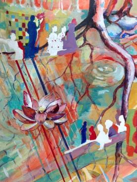 Acrylique – 65 x 50 cm - 2017