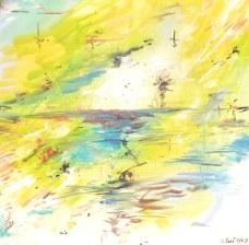 huile - Dimensions : 60 X 60 cm - 2009